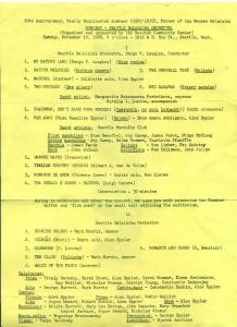 Seattle Balalaika Orchestra Concert 1968