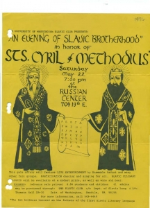 St. Cyril and Methodius Day 1976
